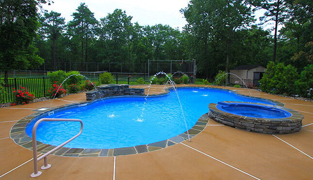 Pool Photos Coventry Pool Feature Photos North Kingstown