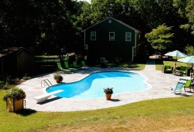 Swimming Pool with Inground Vinyl Liner