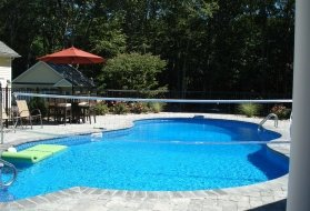 Inground Pool with Vinyl Liner